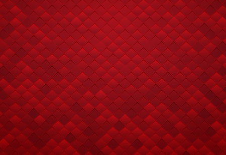 abstract red square tile background Standard-Bild - 106015993
