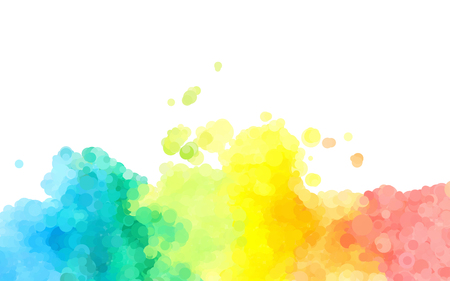 abstract colorful watercolor background dotted graphic design Standard-Bild - 112177190