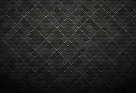 abstract black metal tile background Standard-Bild - 112177191