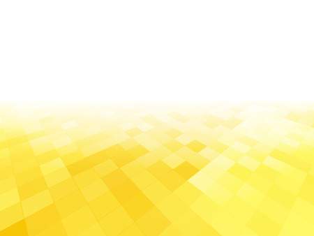perspective abstract yellow tiled background Standard-Bild - 112177192
