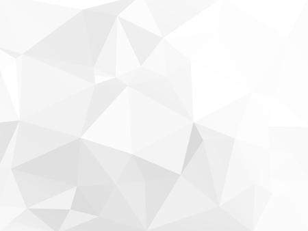 gray paper polygonal vector background Standard-Bild - 106229407