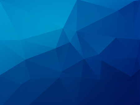abstract blue polygonal vector background