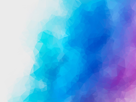 abstract blue purple polygonal vector background Standard-Bild - 106229414