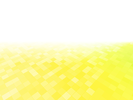 perspective abstract yellow tile pattern Standard-Bild - 112177207