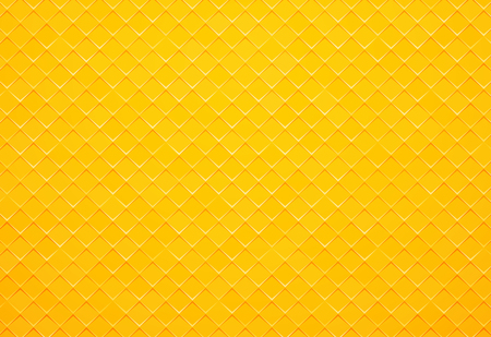 abstract yellow square tile background Standard-Bild - 112177213