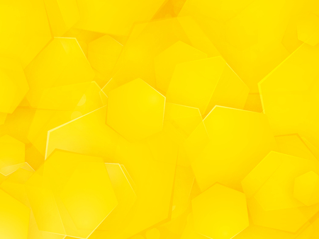 abstract yellow square background Standard-Bild - 110438078