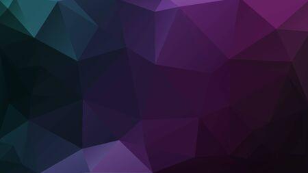 texture de triangles de mosaïque violet fond géométrique sombre