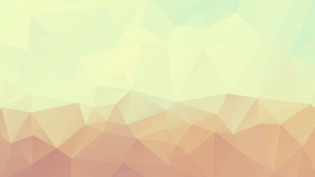pastel geometric background yellow brown mosaic triangles texture
