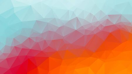 summer geometric background color mosaic triangles texture