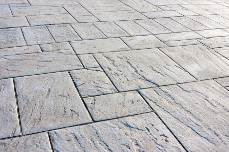 background of floor with paving stones photo