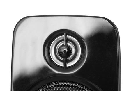 tweeter: detail of tweeter on speaker isolated