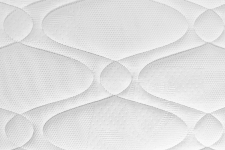 background of white mattress pattern