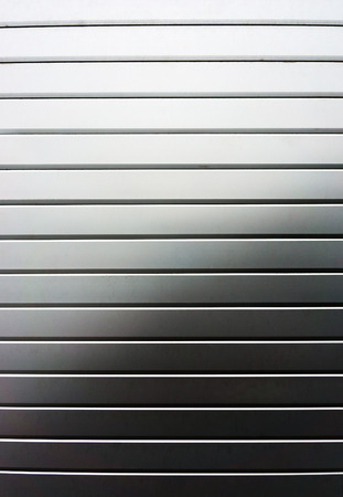 rolling garage door: window roller shutter with metallic blinds