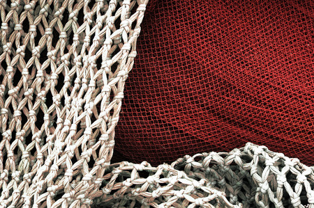 background of a fishing net photo