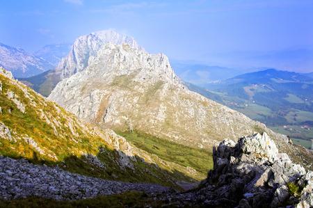 basque country: Urkiola mountain range. Basque Country, Spain