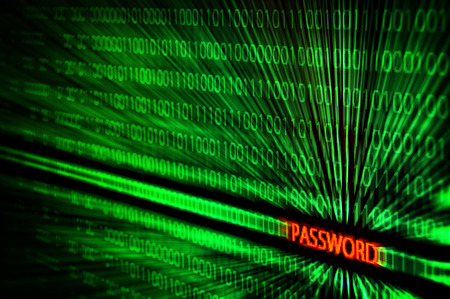 hack: binary code with password text hack