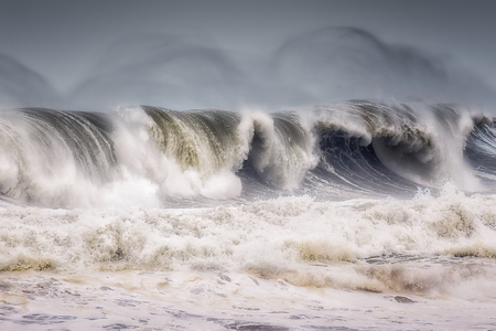 big wave breaking