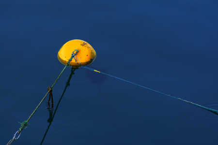 small buoy in Bermeo