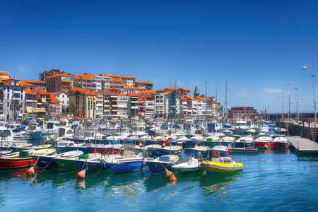 Lekeitio village and port in Basque Country