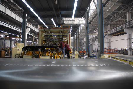 siderurgia: F�brica con las personas y activos de producci�n 6