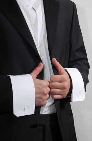 Element of modern mans suit 2 photo