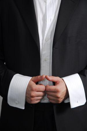 Element of modern mans suit 3 photo