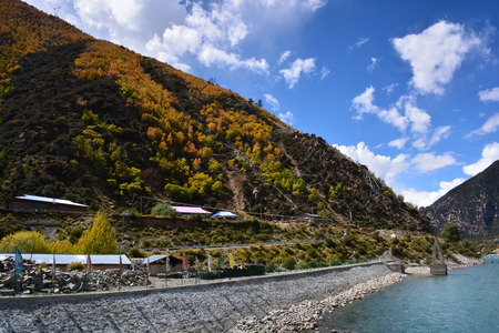 tableland: Taizhaogucheng Stock Photo