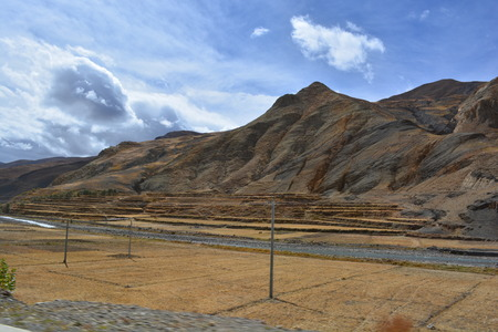 plateau: tibetan plateau Stock Photo