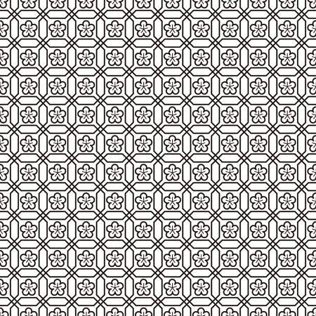 Seamless Japanese and Chinese Pattern