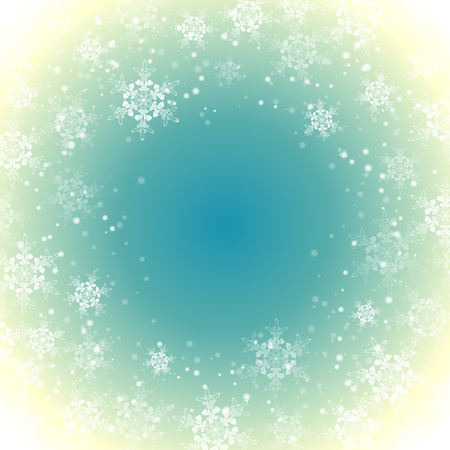 Christmas snowflakes decoration pattern background