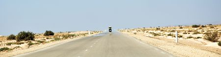 lonelyness: Road to Tozeur, Tunisa