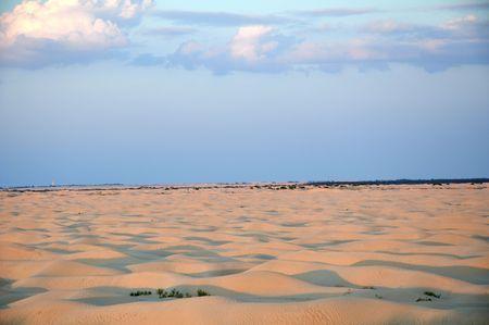 lonelyness: Desert Stock Photo
