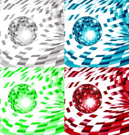 mirrorball: Monochrome Diskoballs