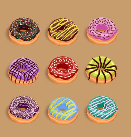 beignet: Donuts Illustration