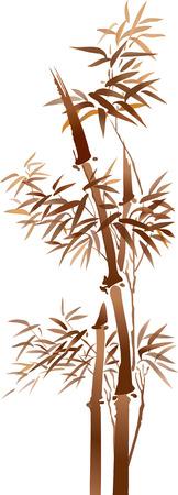 bamboo 矢量图像