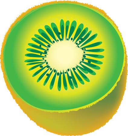 zest: Kiwi fruit