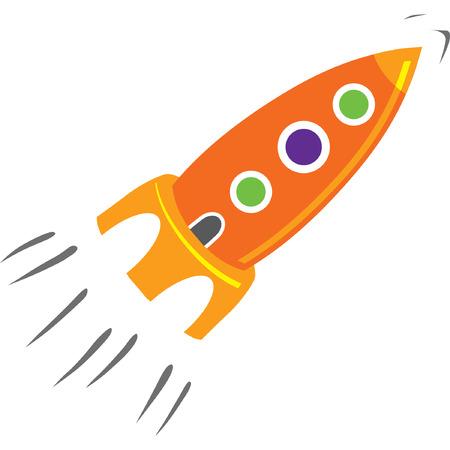 booster: ilustraci�n cohete