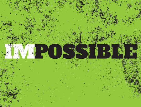 possible: Motivation Possible, vector Illustration