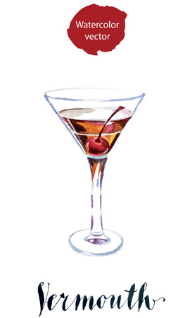 vermouth: Vermouth with cherry