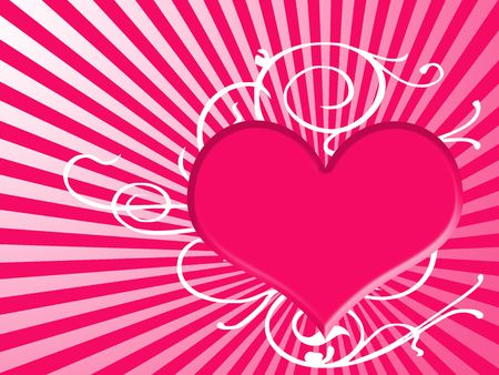 heart background Stock Photo - 3777066
