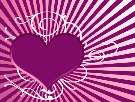 purple heart Stock Photo - 3777068