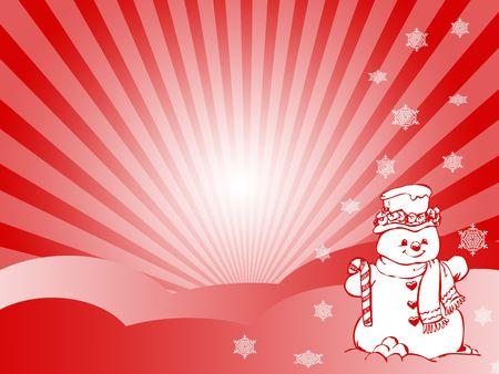 snowman Stock Photo - 3777067