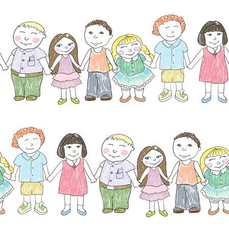 男の子と女の子を持つパターン