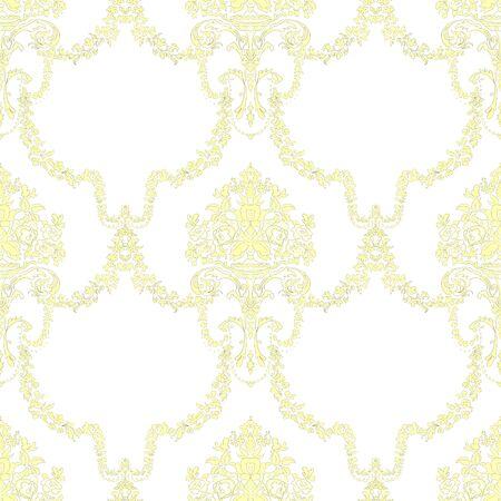 Weinleseverzierung auf weißem Hintergrund. Handgezeichnete Abbildung