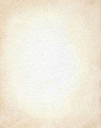 Vintage beige paper framing background. Watercolor hand drawn illustration pattern