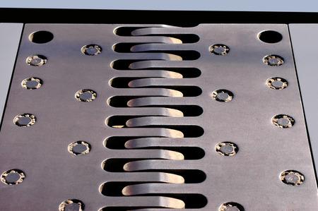 firmeza: Peine de metal para carreteras carreteras y puentes en uso