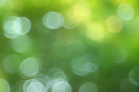 Abstract bokeh green bubble style effect made with Altix Zeiss lens