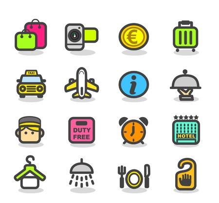 Travel ,holiday icon set