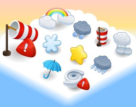 celsius: weather icon set
