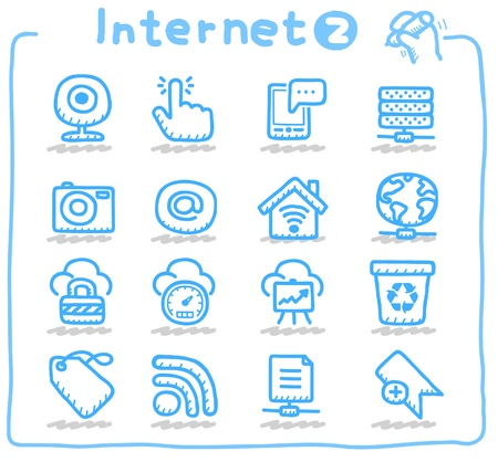 web cam: internet,business,communication icon set